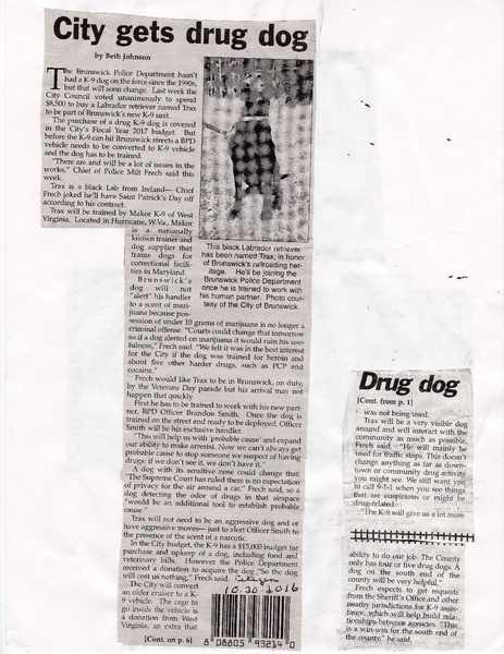 File:Police Department 2016 Gets Drug Dog.pdf