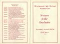 Class of 1974 - Sermon to the Graduates Program (Front and back page).jpg