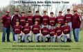 Baseball, 2012 Frederick County Babe Ruth Fall Season Champions.jpg
