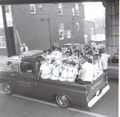 Little League Lions in the opening day parade, April 1969 in Brunswick.jpg