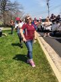 Amy Dinges at the Brunswick Little League Opening Day parade, April 2018..jpg