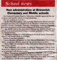 Administrators at Elementary and Middle School from The Brunswick Citizen, June 23, 2016.jpg