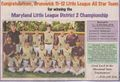 Maryland State Champion Brunswick Little League All Stars 2010.jpg