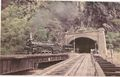 Chesapeake & Ohio 4-8-4 emerges from the Harpers Ferry tunnel in 1981.jpg