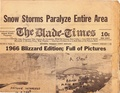Blizzard of 1955 from The Blade-Times, February 1, 1955.pdf