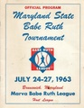 Little League 1963 - Babe Ruth tournament Program July 24-27, 1963. Program on file at the Brunswick History Commission.pdf