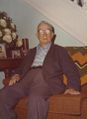 John H. Moore at his home at 519 Brunswick Street in the 1970s.jpg