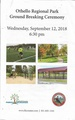Othello Regional Park Ground Braking Ceremony Program, September 12, 2018.pdf