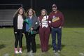 Band 2018, Senior Night in October, Jenny Harrison (left), Karla Harrison (middle left), Katelyn Harrison (middle right, student), and John Harrison (right).jpg