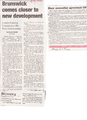 Bizer rezoning for Development from the Brunswick Citizen, August 24, 2000.png