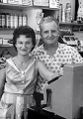 Doris & Paul Harrison Photo behind the counter of the New York Hill Market in the 1960s..jpg