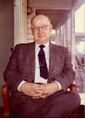 Claude Lutman Presiden of the downtown Farmers & Mercanics Bank mid 1970s.jpg