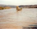 Flood of 1985 on the Potomac River. Photo taken from the Bridge (1).jpg