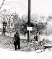 James (Jelly) Lipscomb and Tony (Shorty) Jackson on Shady Lane in Petersville.jpg