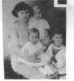 Della Grams Dawson, children Kathleen Donald and Norman 1920s Photo from John Brubaker.jpg