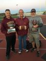 Football 2016, Left Coach Jeff Smith, Mayor Snoot,s Coach Jeff Jones, Brunswick Varsity BJR beat Middletown in the Super Bowl 18-0 November 12, 2016.jpg