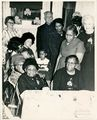 Mary Pauline Brooks (front, left) belived to be her 100th birthday party.jpg