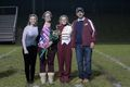 Band 2018, Senior Night in October, Emily Hatch (left), Tracy Hatch (left middle), Kylie Hatch (right middle, student), Robert Hatch (right.jpg