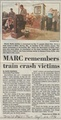 MARC Remembers Train Crash Victims from The Herald-Mail, Hagerstown, September 22, 1996.pdf
