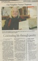 Norma Chapman Celebrating Life Through Poetry from The Gazette, April 12, 2007.pdf