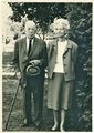 Dr. & Mrs. John George Fauble Smith in their garden on Rosemont.jpg