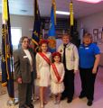 American Legion 2018, Alta Glotfelty (left), Dept President, (right) Diane Duscheck and Jenna and Megan Dick.jpg