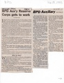 Police Department Auxiliary Corps Get to Work from The Brunswick Citizen, February 18, 1999.pdf