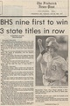 Baseball 1992 Three State titles in a Row from The Frederick News-Post, May 26, 1992.pdf