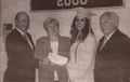 Awards - Follin Scholarship to Jana Renn in June, 2001.jpg