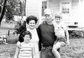 Smith Family - Frank, Kitty, Sherre and Marvin on Claggett Farm.jpg