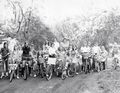 Canal - Girl Scout troop 791on the towpath, 1971.jpg