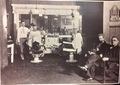 Barber shop at the YMCA was a long-time gathering spot for railroaders.jpg