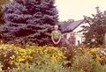 John Graham lords over his garden on Rosemont in the 1970s..jpg