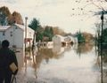 Flood of 1985 in Point of Rocks, November, 1985..jpg