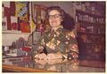 Cage's Garage in the mid-'70s, Virginia Burke behind the counter.jpg