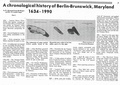 Chronological History of Berlin-Brunswick, 1634 - 1990, Part 1 from The Citizen, January 17, 1991.pdf