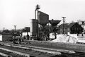 Concrete plant for the new bridge in the railroad yards in the early 1950s.jpg