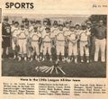 Little League 1976 All-Star Team, The Brunwick Citizen, Vol 3, No 29, July 22, 1976.jpg