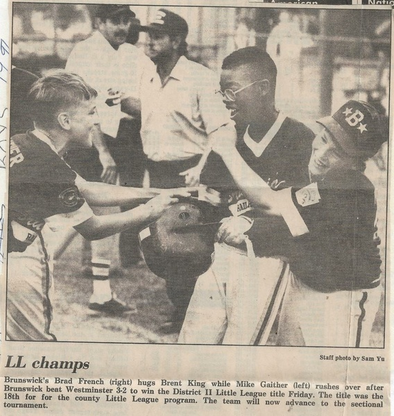File:Little League 1991 District II Championship from The Frederick News-Post, July 20, 1991.pdf