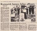 Brunswick Police Honors Fallen Officer from The Frederick News Post, May 16, 1981.jpg