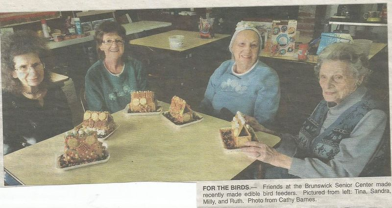 File:Senior Center 2018 Bird Houses from The Brunswick Citizen, Vol 45, No 3, January 18, 2018.jpg