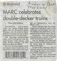 MARC Celebrates Double-Decker Trains from The Frederick News-Post, May 2, 2000.pdf