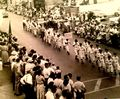 Little League parade on W. Potomac Street in the late 1950s.jpg