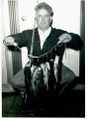 Harry Hahn showing off his catch..jpg